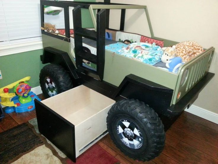 80 Best Images About Kids Jeep Bed On Pinterest