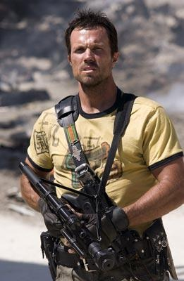 """Jayne Cobb (played by Adam Baldwin) TV series - Firefly. QUOTE: """"Do you know what the chain of command is? It's the chain i go get and beat you with until you understand who's in ruttin' command."""""""