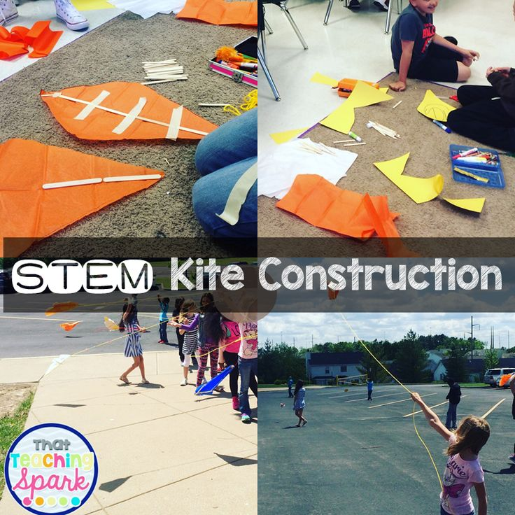 Fun Summer Stem Activities: Stem Kite Construction Activities-- Perfect Activity For