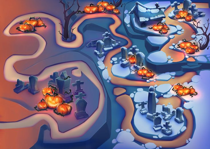 Game maps on Behance