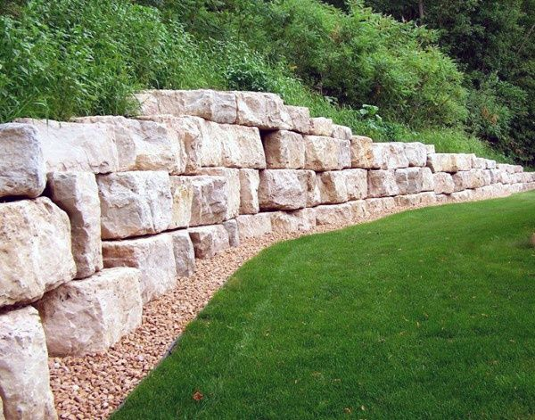 Top 60 Best Retaining Wall Ideas Landscaping Designs Landscape Design Landscaping Retaining Walls Boulder Retaining Wall