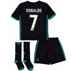 Real Madrid Cristiano Ronaldo 7 Dětské Venkovní dres komplet 17-18 Krátký Rukáv