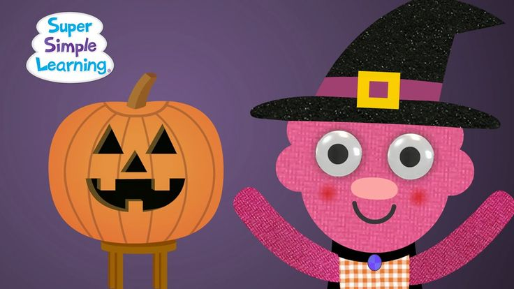 """This Super Simple Halloween song for toddlers, preschoolers, and young English learners teaches the emotions happy, angry, sad, and scared. """"Can You Make A Happy Face?"""" #preschool #efl #education"""