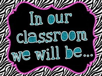 PBIS Classroom Expectation Posters:These posters are a great way to display your classroom expectations for your students! Print them out and tape them to your wall, create an eye ca...