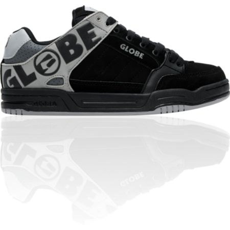 Globe Skate Shoes | Globe Tilt Black & Grey TPR Skate Shoe at Zumiez : PDP