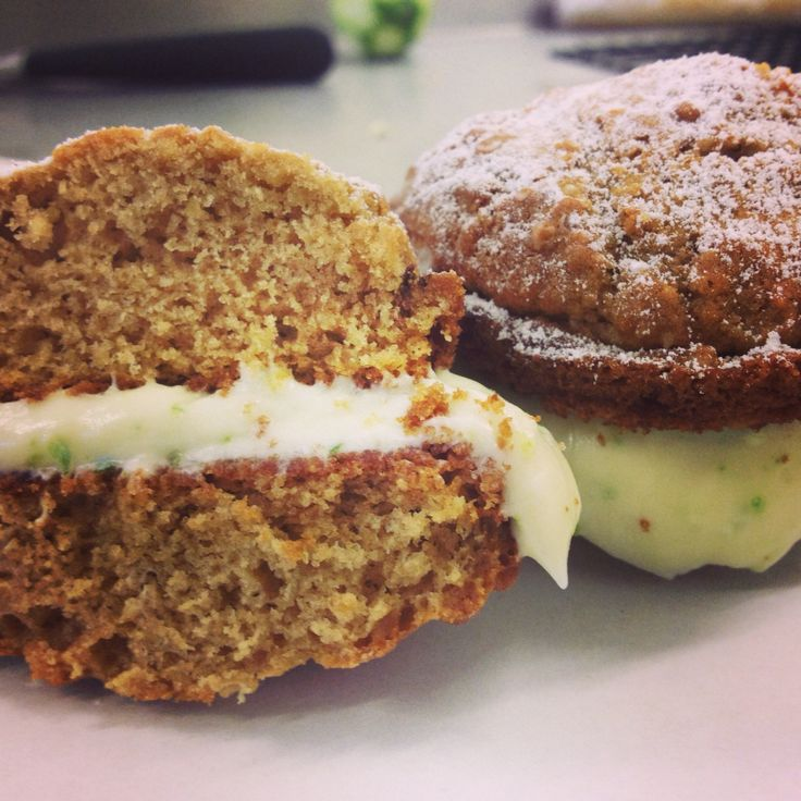 New whoopie pie flavour: key lime