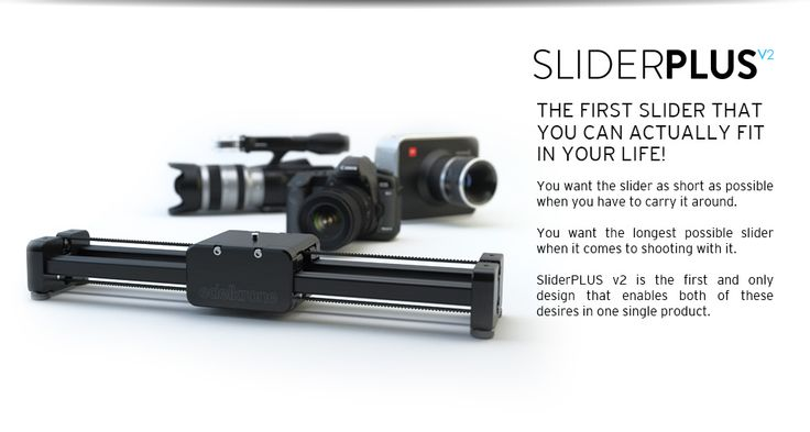edelkrone - SliderPLUS v2 - Slider for DSLR Cameras - DSLR Slider