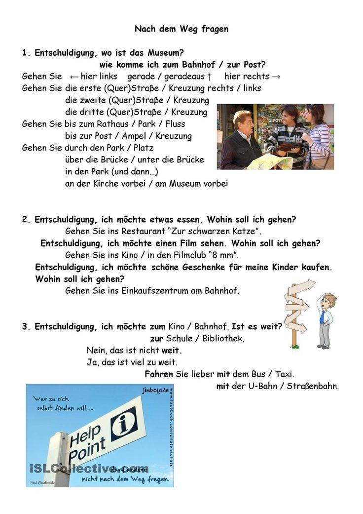 86 best Alemán Redemittel images on Pinterest   German language ...