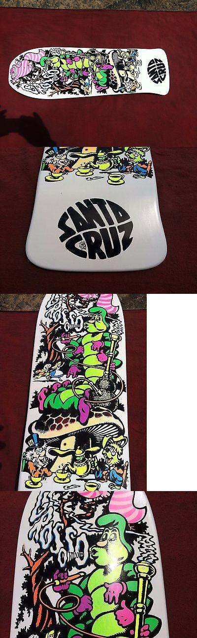 Vintage 114248: Jeff Grosso Santa Cruz Cease And Desist Alice In Wonderland Skateboard Deck -> BUY IT NOW ONLY: $200 on eBay!