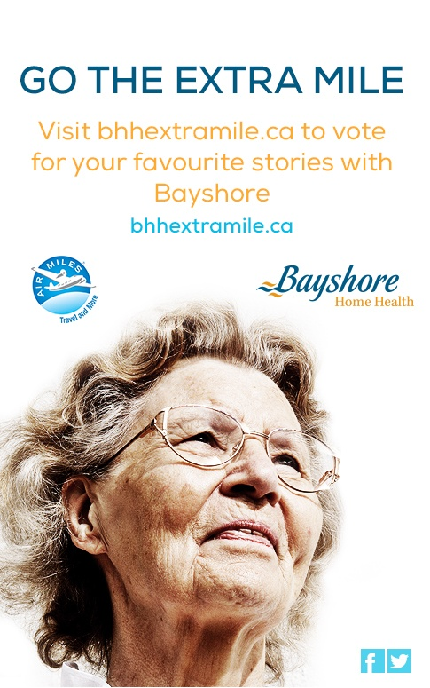 What is the Canadian website My Bayshore?
