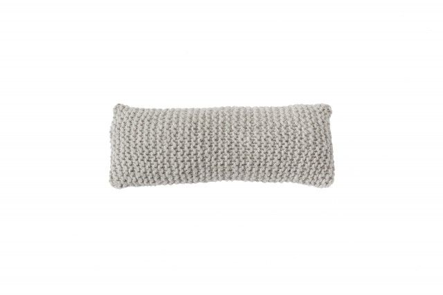 Cushion Wooly - FINE (light grey) > http://zilalila.com/cushion-wooly-fine-white-80 #Zilalila #Cushion #Wool #Knitted #Chunky #Fine #Kids #Label #Interior #Nepal #Fairtrade #Friendly #Conscious #Bedspread #Eco #Children #Grey #White #Brown #Pink #Anthracite