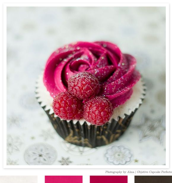 a perfect cupcake.  wow