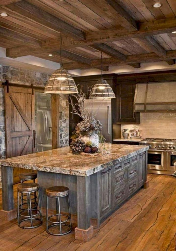 30 Most Popular Rustic Kitchen Ideas You Ll Want To Copy Rustic Farmhouse Kitchen Rustic Country Kitchens Farmhouse Kitchen Design