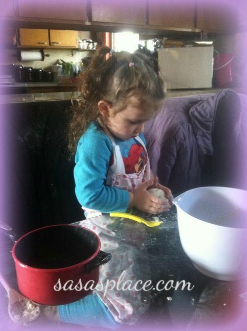 Kids Join In On Housework Fun! @ Sasa's Place