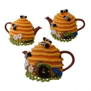 Bee Hive House Tea Cosy