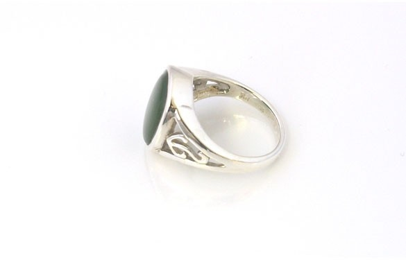 Paua World - Greenstone and Silver Ring, $125.00 (http://www.pauaworld.com/greenstone-and-silver-ring/)