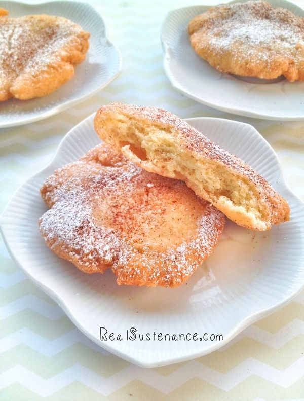Post image for Gluten & Grain Free Fried Dough. (Yeast/Soy/Dairy Free) http://realsustenance.com/#