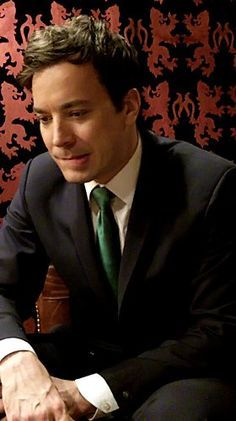 Jimmy Fallon... He is sooooo incredibly handsome! Agh
