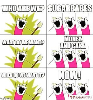 With home delivery, please.  #sugardaters #sugardaddy #sugarbabe #sugar #cake…