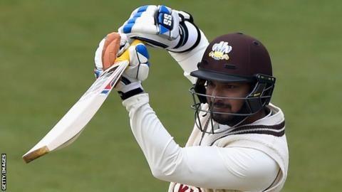 County Championship: Kumar Sangakkara's ton puts Surrey in fine position on day one