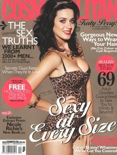 Katy Perry en couverture du magazine Cosmopolitan - Novembre 2010 / / #cover #katyperry #cosmopolitanmagazine #girls #sexy #revue #journal #revista #rivista #portada #hot #femme #nude #woman