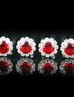 Headpieces 4 Pieces Gorgeous Rhinestones Wedding Pins /Special Occasion More Colors Available