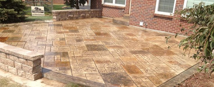stamped concrete patio costs | ... Blog | Concrete Contractor Company Driveways Patios Stamped Concrete