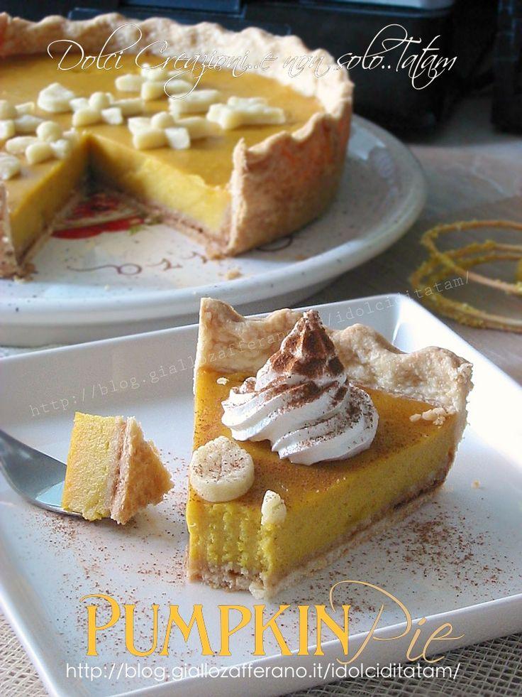 Pumpkin Pie - Torta di zucca americana | ricetta passo-passo