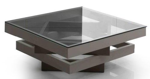 Image result for Modern coffee table with multi-level top