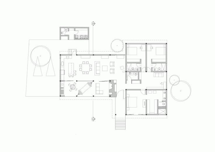 La 1⁄2 Agua House / María de los Ángeles Espinosa