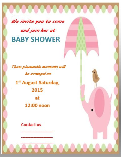 The 25+ best Baby shower invitation templates ideas on Pinterest - editable baby shower invitations
