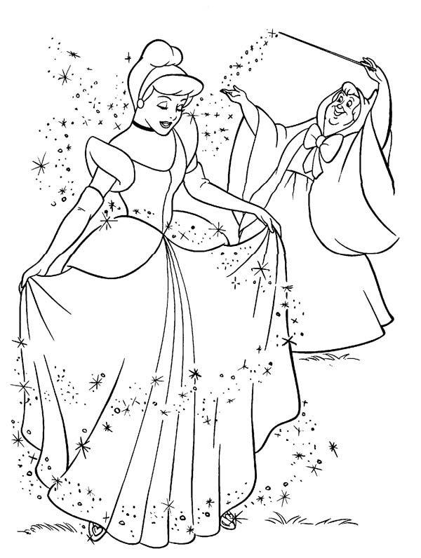 Cenerentola_coloring_book035.jpg (1547×2155) | Cinderella coloring ... | 796x600