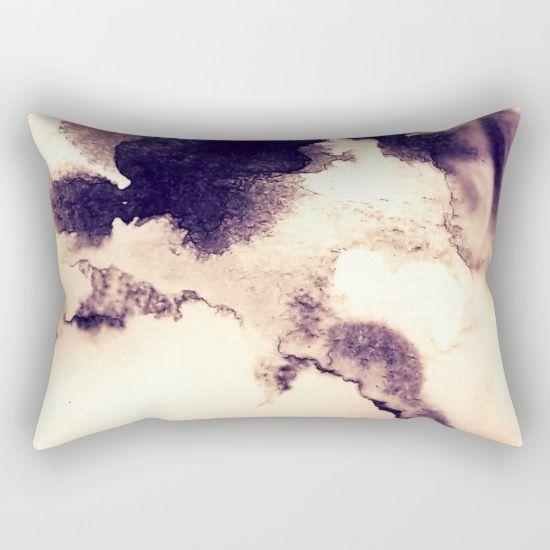 Coffee Cloudscape Rectangular Pillow