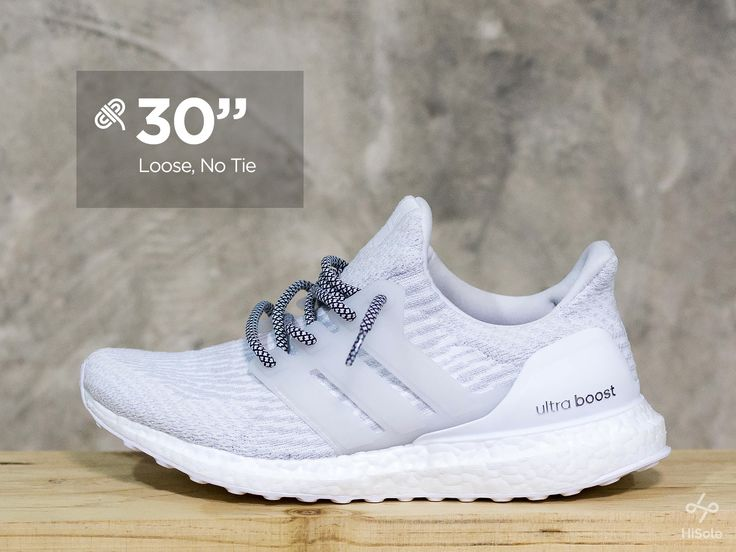 """Hang lose with 30"""" laces . . Tips for boosting your Ultraboost #shoes #sneakers #adidas #ultraboost #laceswap #fashion // See more on our page : www.facebook.com/hisolethailand"""