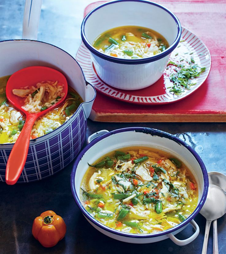 Simple chicken soup recipe from This is Brazil by Fernanda de Paula | Cooked