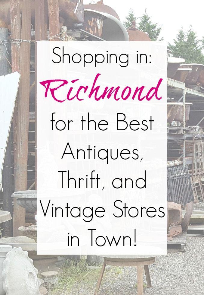 Halloween Richmond Va 2020 Antiques, Vintage, Architectural Salvage, & Thrift Stores in