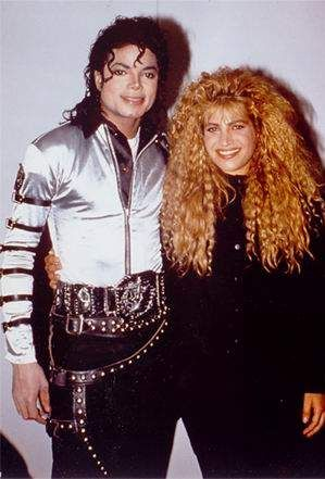 with Taylor Dayne #CelebrateMJ #Bad25 #MJFam