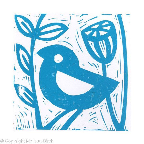 Small Lino Prints, Lino prints inspired by local wildlife. Printed by hand in small editions.