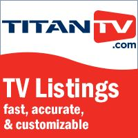 TitanTV - free local TV listings and programs schedules