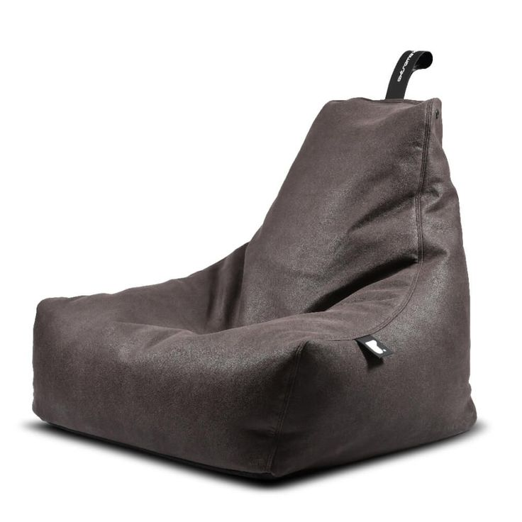 B-Bag Mighty-B Indoor Zitzak - Slate   Deluxe B-bag zitzak, maar dan in een nieuw (old leatherlook) jasje. DeB-Bag Indoor zitzakis een robuuste krachtpatser met goede looks om extreem op te loungen. DeB-Bag indoor zitzak wordt gefabriceerd in Yorkshire, Engeland, waar ze almeer dan 10 jaar zitzakken van topkwaliteit maken.