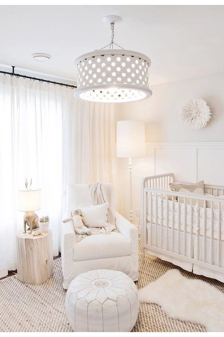 Jillian Harris's All-White Nursery Is Pure Perfection