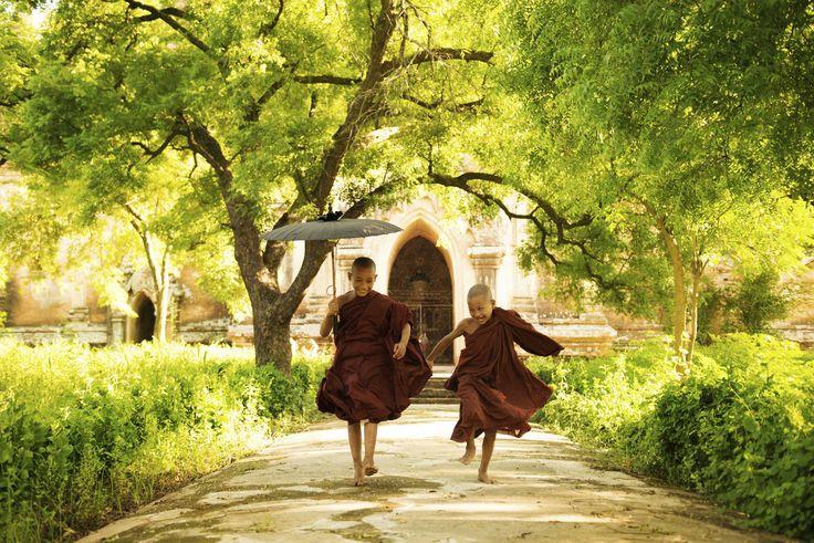 Myanmar - La cultura de Birmania ha estado siempre muy influida por el budismo.  Comparte tus sueños viajeros en www.faro.travel!!
