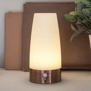 Copper Table Sensor Lamp - lighting