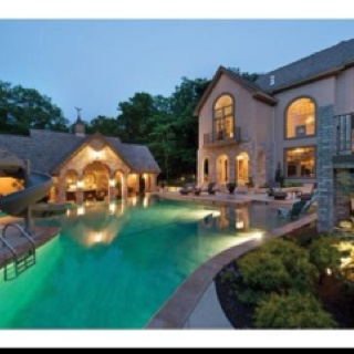 Charming Infinity Edge Multi Use Pool And Spa   Traditional   Pool   Kansas City    VanElders Design Studio