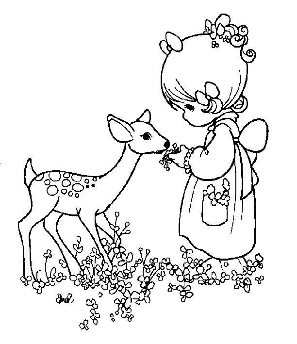 Precious Moments Coloring Pages 008 Papercraft Juxtapost