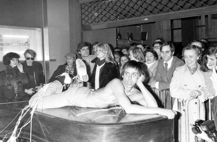 Patrick Siccoli, Iggy Pop, Paris, 1977.