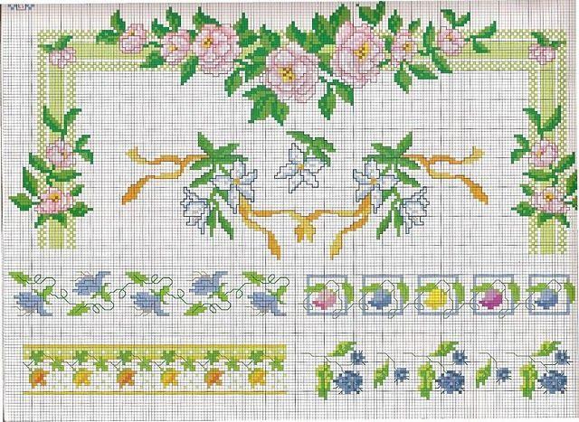 ponto-cruz-rosas.jpg (640×467)