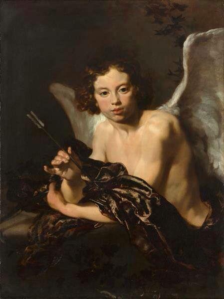 Johann Liss, Amor. c. 1630. Oli sobre tela, 108 x 86 cm. The Cleveland Museum of…