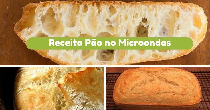 Receita de Pão no Micro-ondas - http://topreceitasfaceis.com/receita-pao-no-micro-ondas/