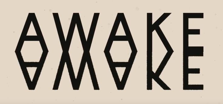 """sweet sweet typography from son lux's """"Dream State"""" lyric video"""